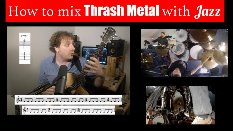 How to mix Thrash Metal with Jazz – The Shrink and Grow breakdown