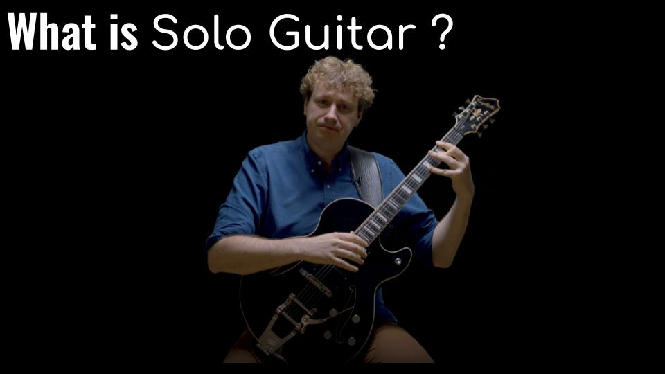 What is Solo Guitar